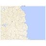 402812 楚洲(そす Sosu), 地形図