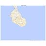 442977 口之島(くちのしま Kuchinoshima), 地形図