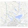 644105 ウトナイ湖(うとないこ Utonaiko), 地形図
