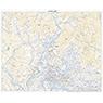 493045 山鹿(やまが Yamaga), 地形図