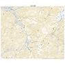 543724 焼岳(やけだけ Yakedake), 地形図