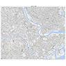 533925 川崎(かわさき Kawasaki), 地形図