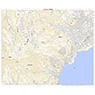 523920 天城山(あまぎさん Amagisan), 地形図