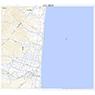 624033 渡島知内 (おしましりうち Oshimashiriuchi), 地形図