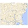 523807 下田 (しもだ Shimoda), 地形図