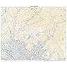 533844 甲府北部 (こうふほくぶ Kofuhokubu), 地形図