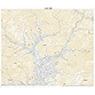 543852 真田 (さなだ Sanada), 地形図