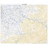 533674 荒島岳 (あらしまだけ Arashimadake), 地形図