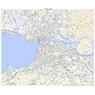 533310 松江 (まつえ Matsue), 地形図
