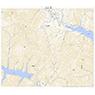 564073 関 (せき Seki), 地形図