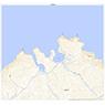 654666 色丹島 (しこたんとう Shikotantou), 地形図