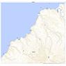 684814  蘂取 (しべとり Shibetori), 地形図