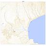 684816  蘂取 (しべとり Shibetori), 地形図