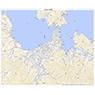 513141 仙崎 (せんざき Senzaki), 地形図