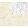 594037 鶯宿 (おうしゅく Oshuku), 地形図