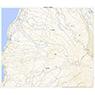 583957 小砂川 (こさがわ Kosagawa), 地形図