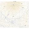 644016 羊蹄山 (ようていざん Yoteizan), 地形図