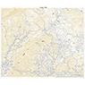 553800 戸隠 (とがくし Togakushi), 地形図