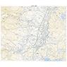 553821 赤倉 (あかくら Akakura), 地形図