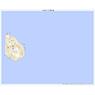 483956 八丈青ヶ島 (はちじょうあおがしま Hachijoaogashima), 地形図