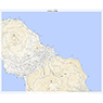 493956 八丈島 (はちじょうじま Hachijojima), 地形図