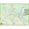 Black Lake trail map