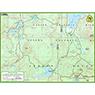 Rainbow Lake trail map