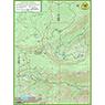 Saucer Lake trail map