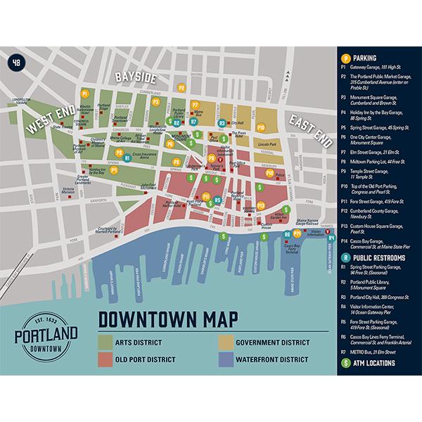 Downtown Portland, ME - Avenza Systems Inc  - Avenza Maps